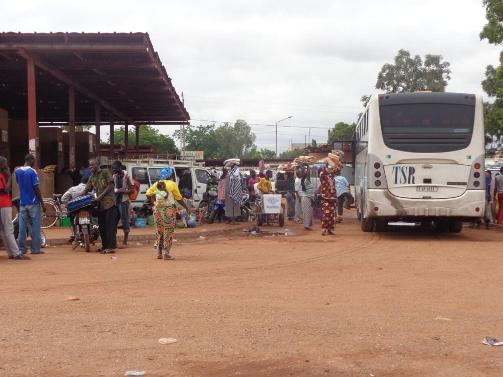 copyright Zembalacultur. la Gare de l'Est Ouagadougou
