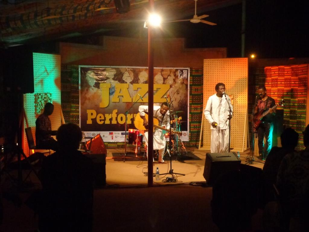 Photo zembalacultur / prestation Jazz a Ouaga