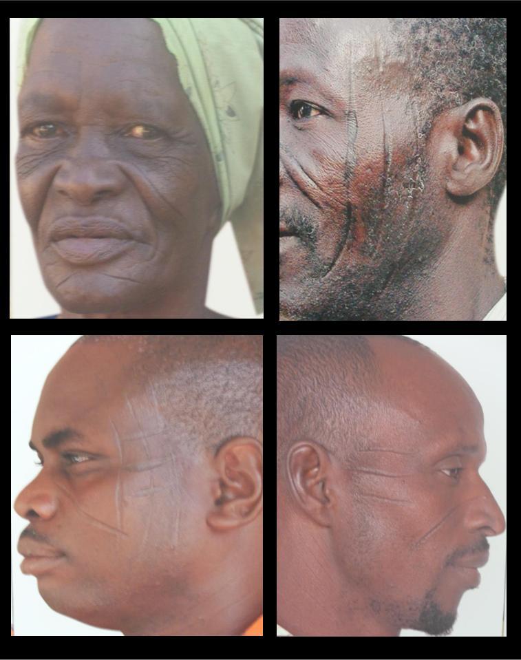 photo zembalacultur / portrait de visage Balafré